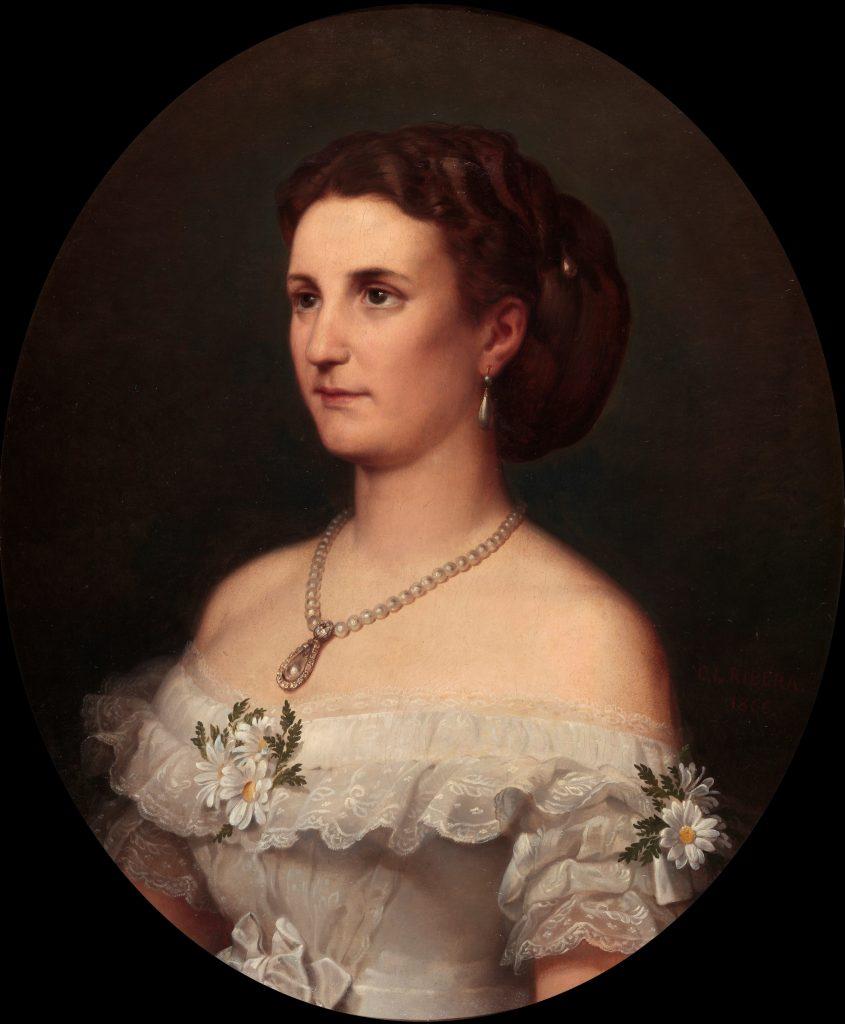 María Leonor de Salm Salm, duquesa de Osuna y amante de Carlos Carlderón. Fuente: Wikipedia