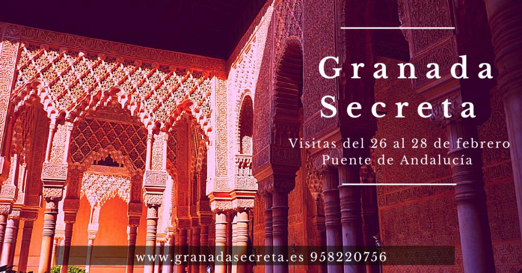 Granada Secreta. Visitas Puente de Andalucía.