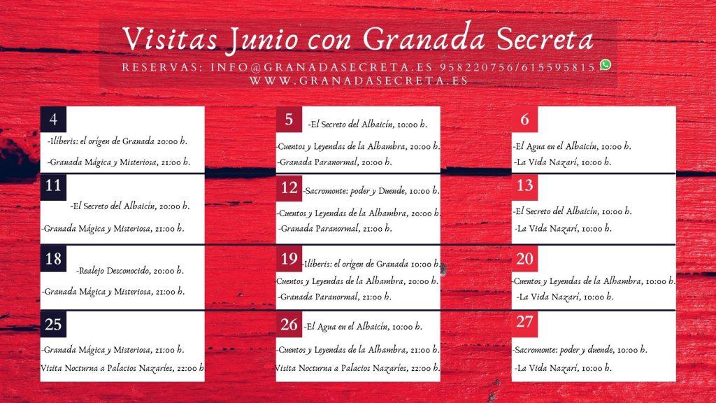 Visitas guiadas en Granada.